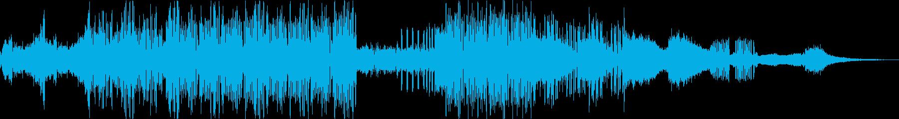 情熱的な繋がりをイメージしたBGMの再生済みの波形