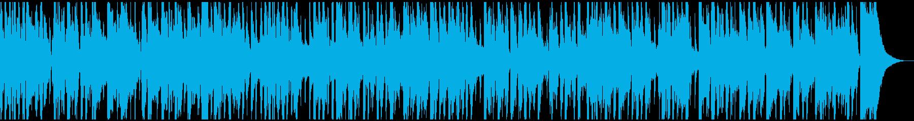 生音バイオリンのレトロで軽快なワルツの再生済みの波形