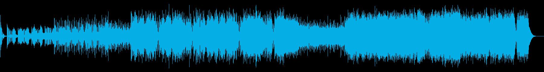 戦闘コマンド ヘビーなギターデジロックの再生済みの波形