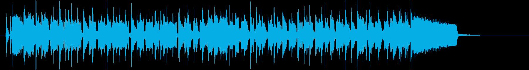 疾走感ある超絶技巧スラップ(Short)の再生済みの波形