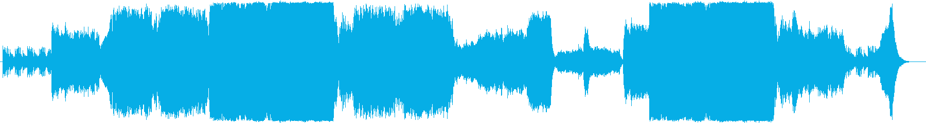 重厚壮大なエピック系オーケストラBGMの再生済みの波形