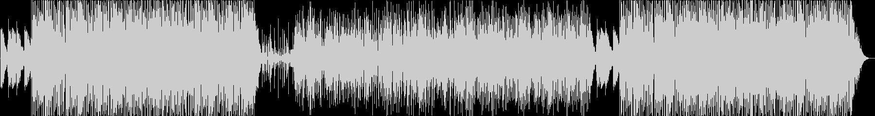 ファンクとオーソドックスジャズがMIXの未再生の波形