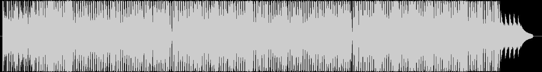 TikTokピコピコカワイイテクノの未再生の波形