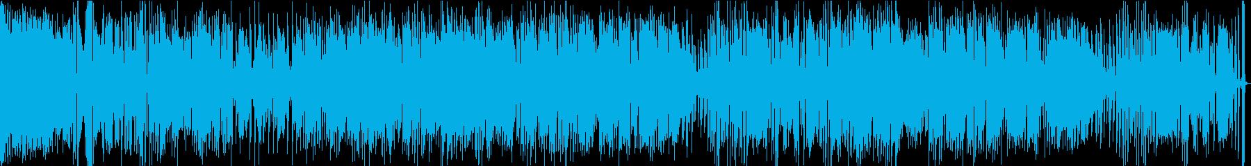 軽快で疾走感のあるアコーステッィクの再生済みの波形