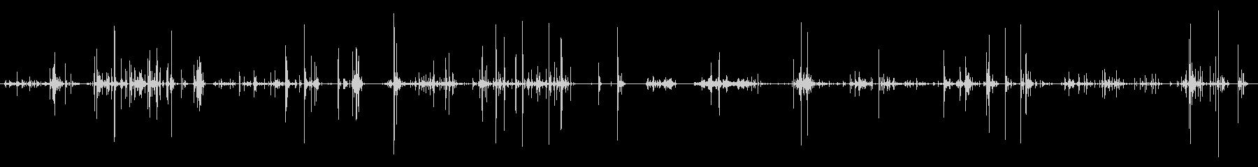 ガラス 破片落下シーケンスロング03の未再生の波形