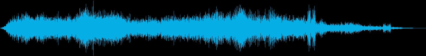 マイグライン4の再生済みの波形