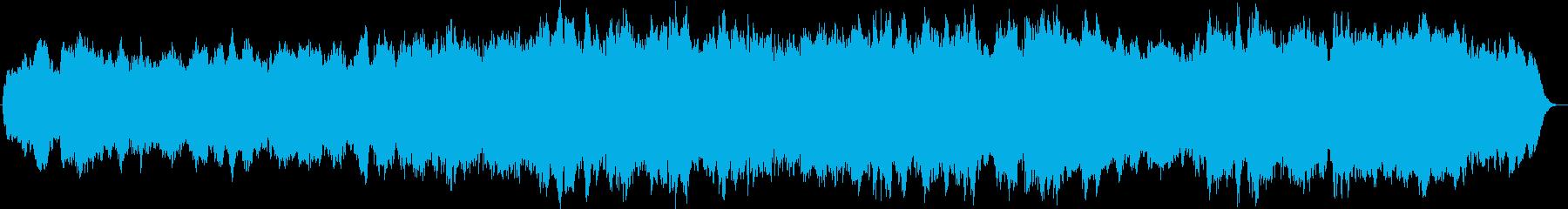 4声のバロックパイプオルガンオリジナル曲の再生済みの波形