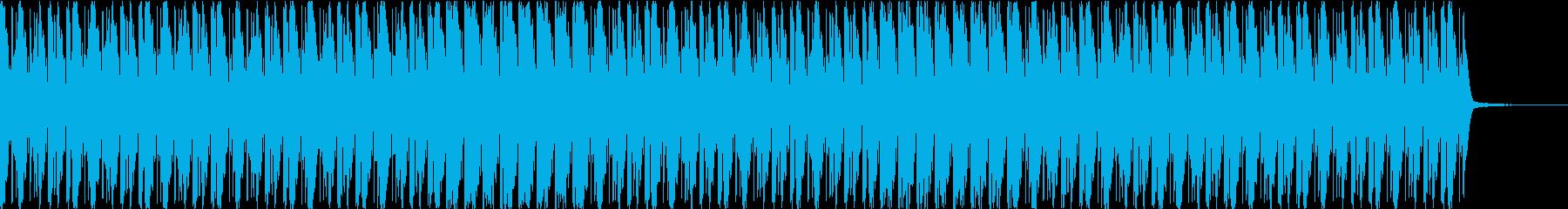 アコーディオンによる三拍子のワルツ風の再生済みの波形