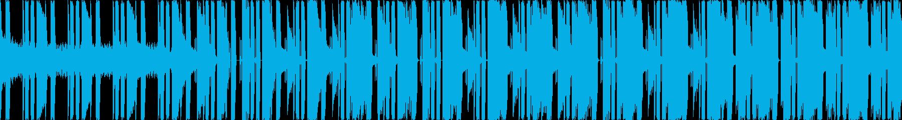 ファミコン風ゲーム 炎/ボスステージ  の再生済みの波形