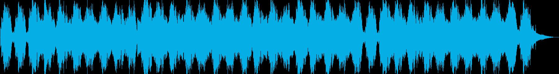 リラックス・映像・ナレーション用の再生済みの波形