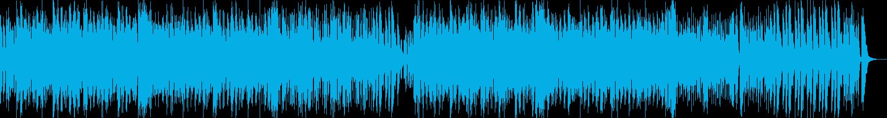 煌びやかで疾走感のあるアシッド・ジャズの再生済みの波形