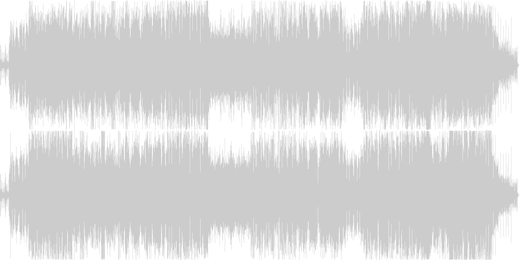 ほっこりするウェディングソング♪♪の未再生の波形