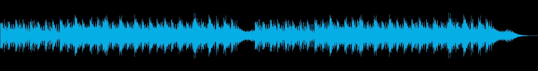 出発段階の再生済みの波形