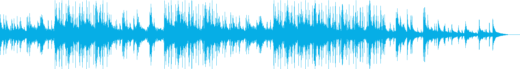 ほっこりとまどろむようなJazzyな曲の再生済みの波形