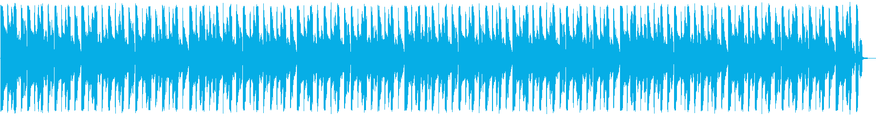 ゆったりとしたテクノ_No603_5の再生済みの波形