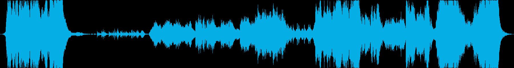 ファンタジー映画風オーケストラ 冒険への再生済みの波形