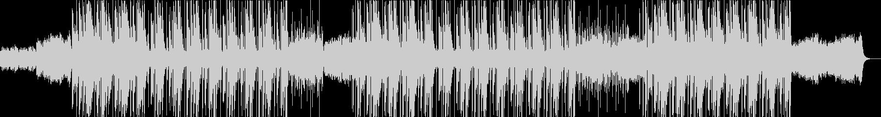 フルートが印象的な洋楽トラップビートの未再生の波形