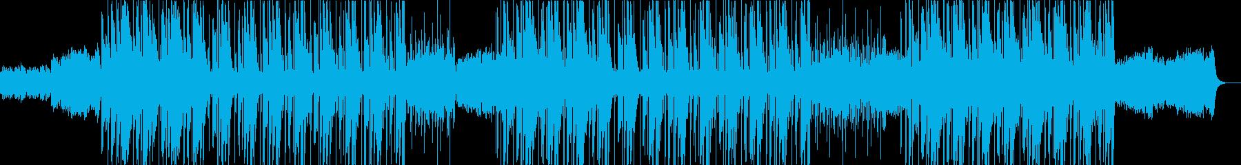 フルートが印象的な洋楽トラップビートの再生済みの波形