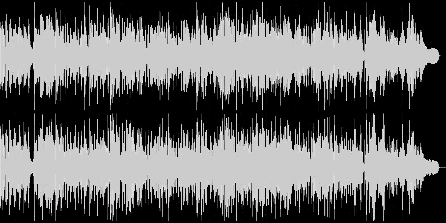 ソフトな色気あるサックスのゆっくりジャズの未再生の波形