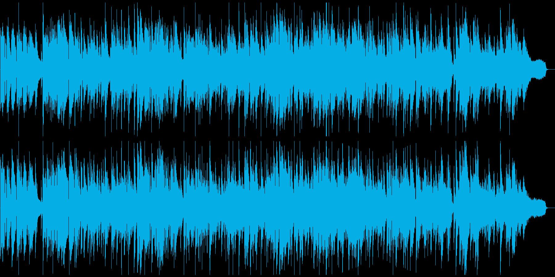 ソフトな色気あるサックスのゆっくりジャズの再生済みの波形