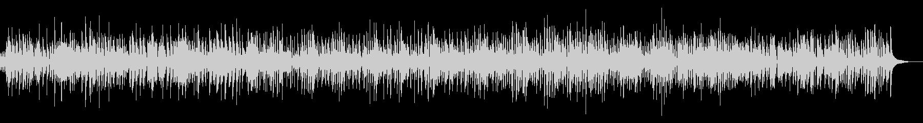 疾走感ピアノジャズYouTubeカフェ系の未再生の波形