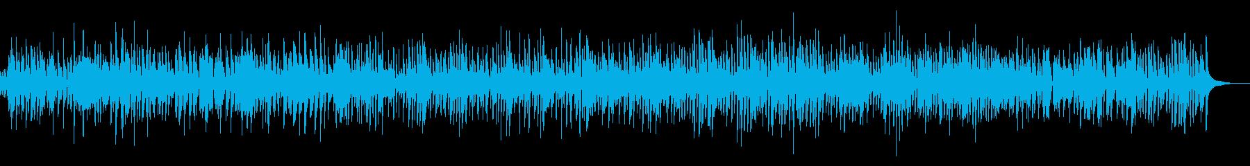 疾走感ピアノジャズYouTubeカフェ系の再生済みの波形