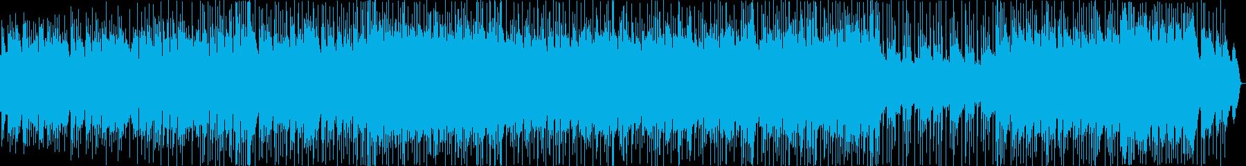 アドベンチャーなBGMですの再生済みの波形