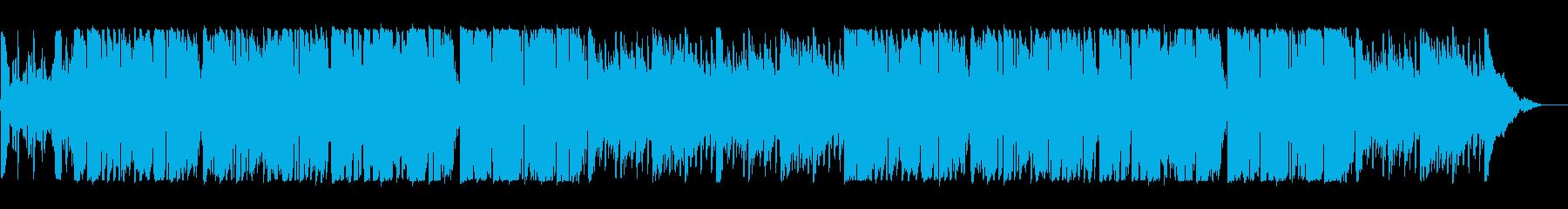 ケルト アクション 感情的 ハイテ...の再生済みの波形