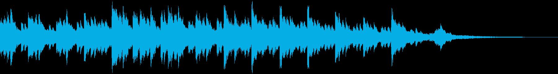 爽やかで前向きなイメージの企業CM30秒の再生済みの波形