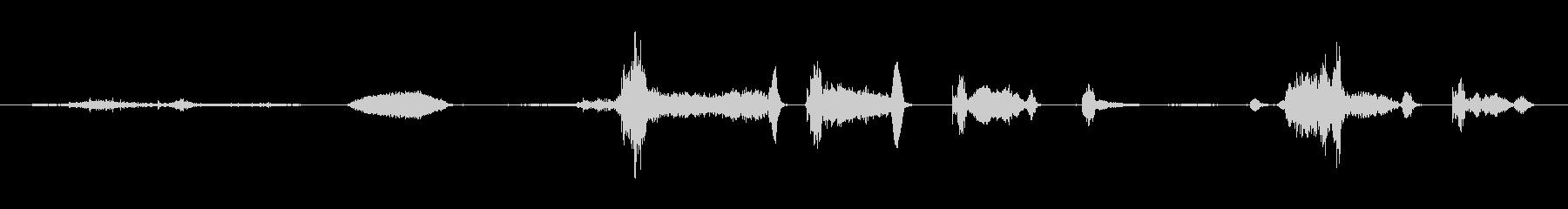 鳴き声 女性咳重症ロング03の未再生の波形