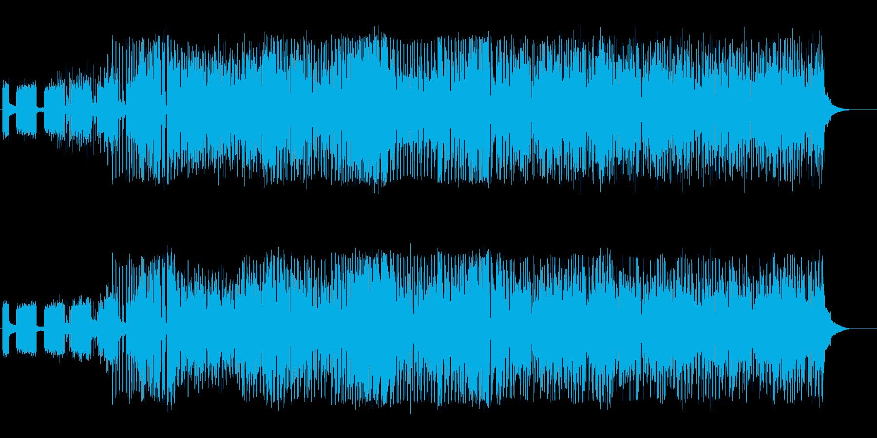 夏、可愛いポップな日本語EDM、RAP有の再生済みの波形