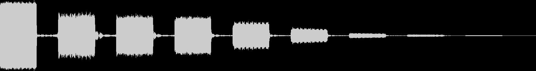 AMGアナログFX 30の未再生の波形