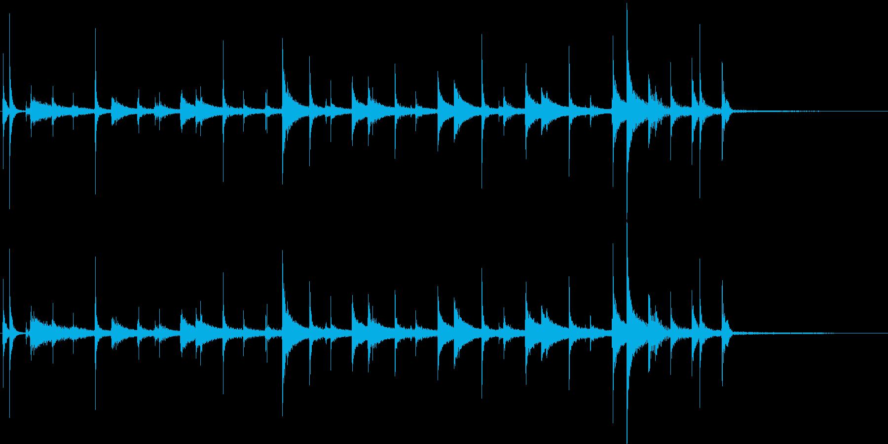 アコースティックドラムセット:ジャ...の再生済みの波形