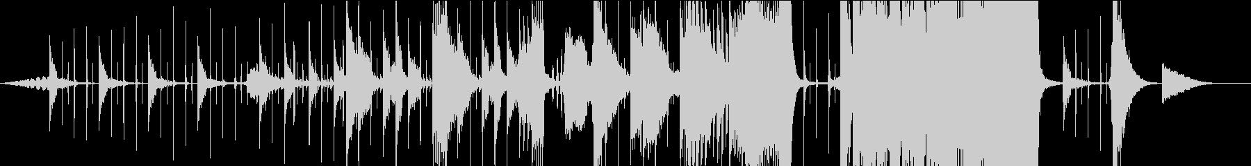 電気音響シンフォニー 実験的 積極...の未再生の波形