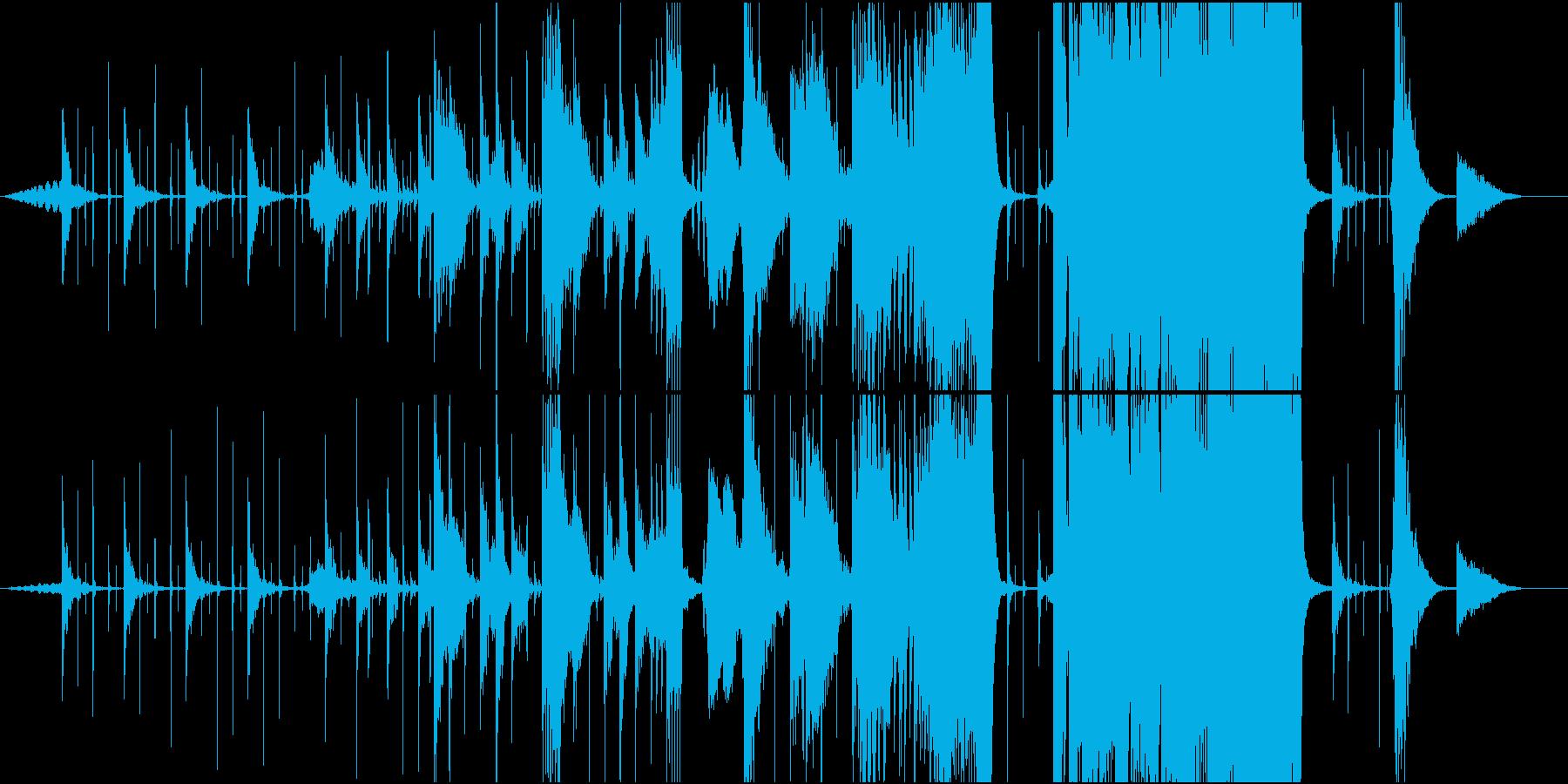電気音響シンフォニー 実験的 積極...の再生済みの波形