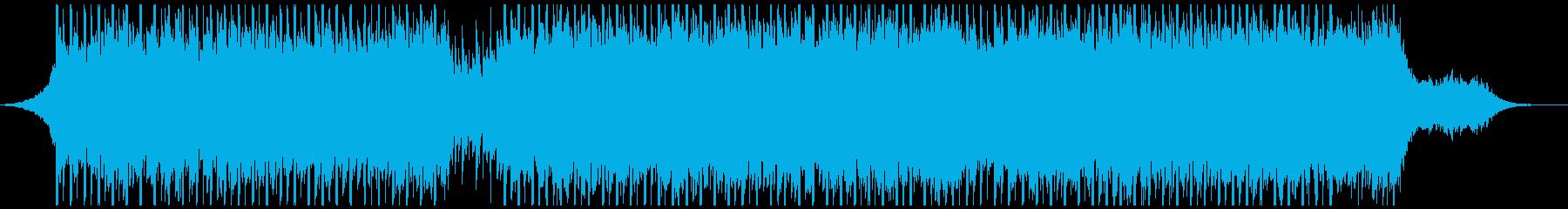 健康(60秒)の再生済みの波形