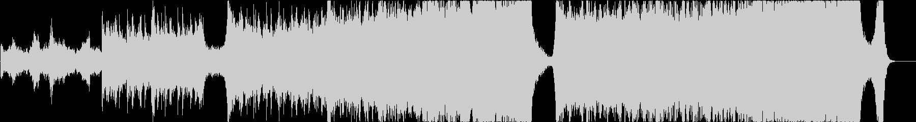 エピックシネマティックミュージックの未再生の波形