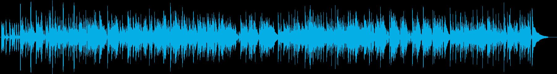 軽快で爽やかなアコギ生演奏の再生済みの波形