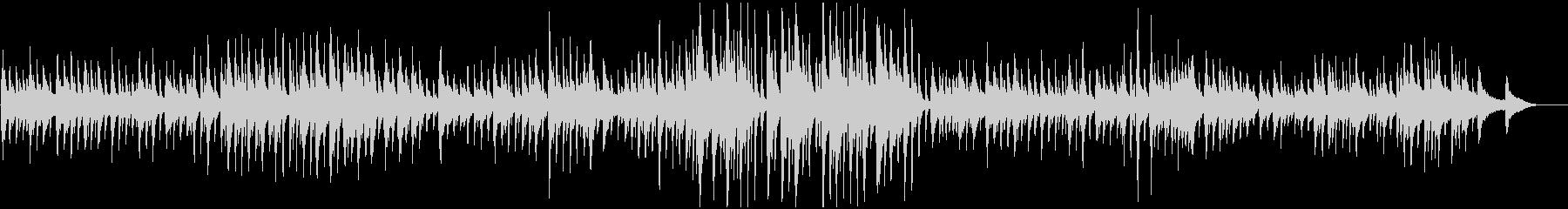 ギターアンサンブル・ゆっくり静か・切ないの未再生の波形
