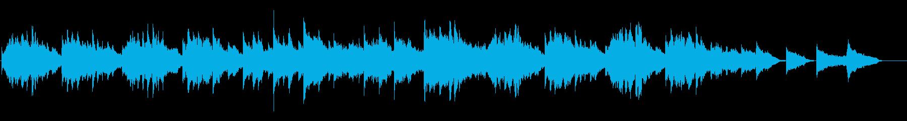 しっとりと美しい弦楽四重奏+ピアノ+鉄琴の再生済みの波形