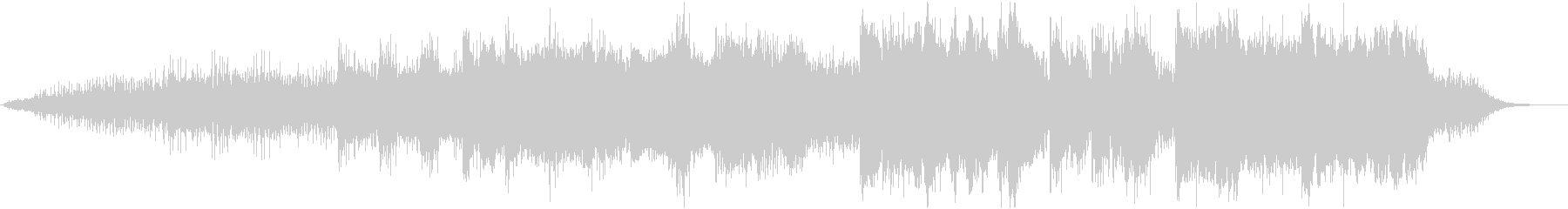 ノイジーで抽象的な実験的な楽曲の未再生の波形