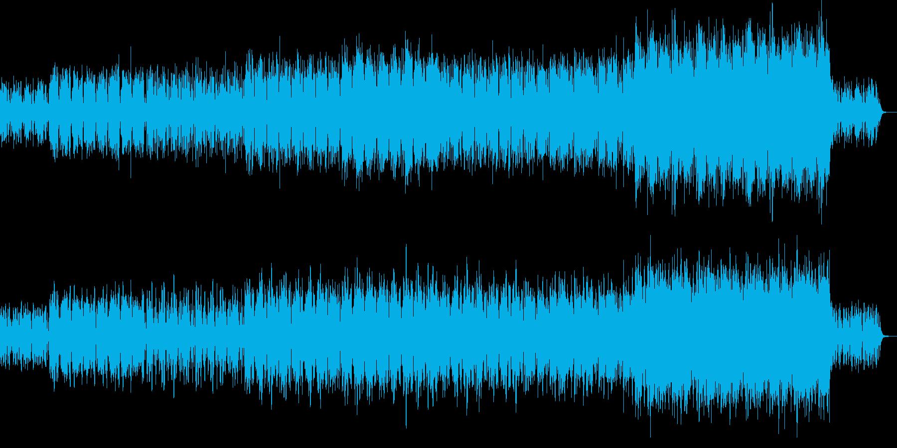 ドキドキ・冒険・始まり・わくわくの再生済みの波形