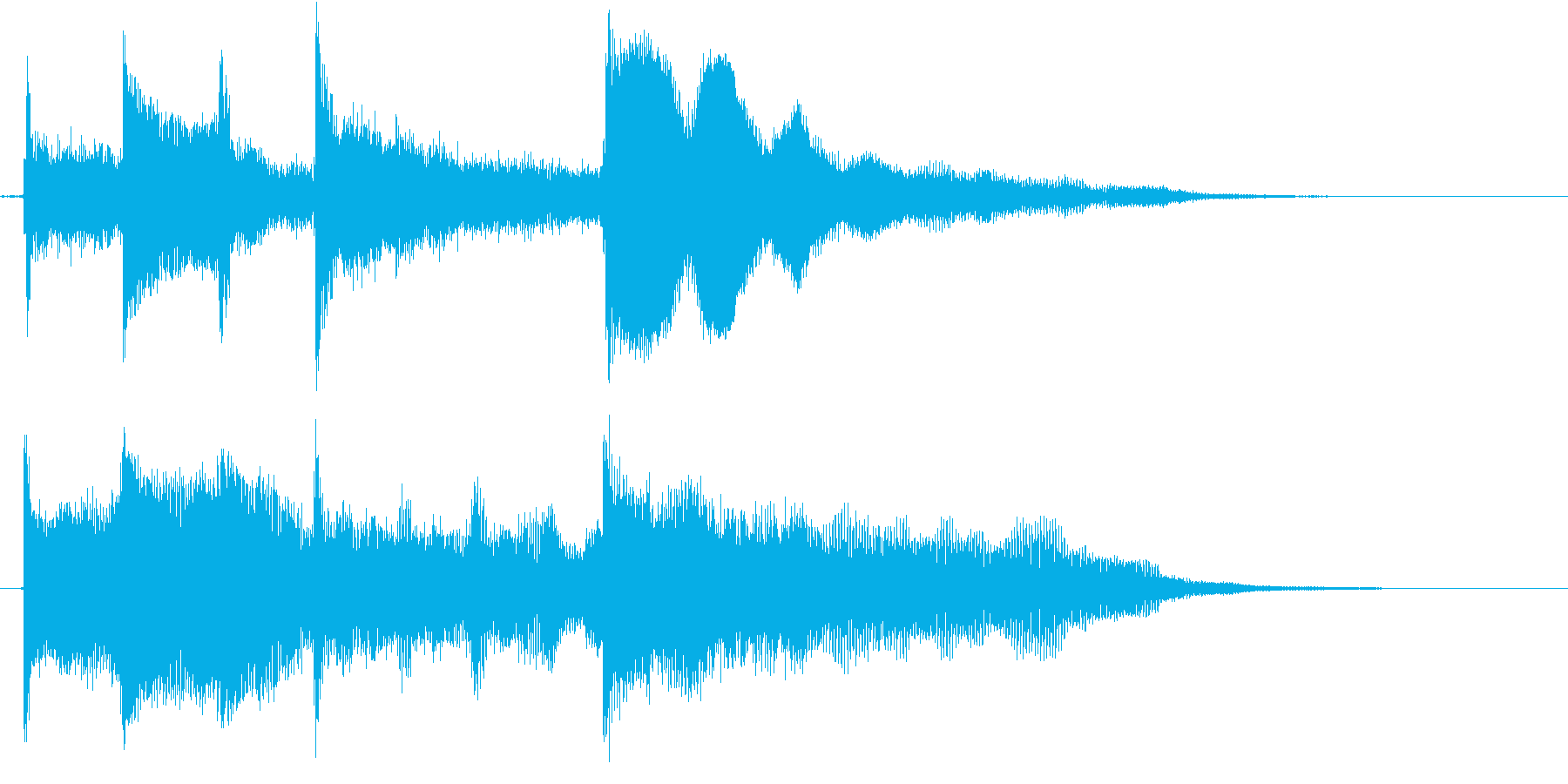 Simple & standard easy to use logo's reproduced waveform