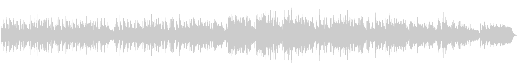 ブライダル風ピアノバラードBGMの未再生の波形