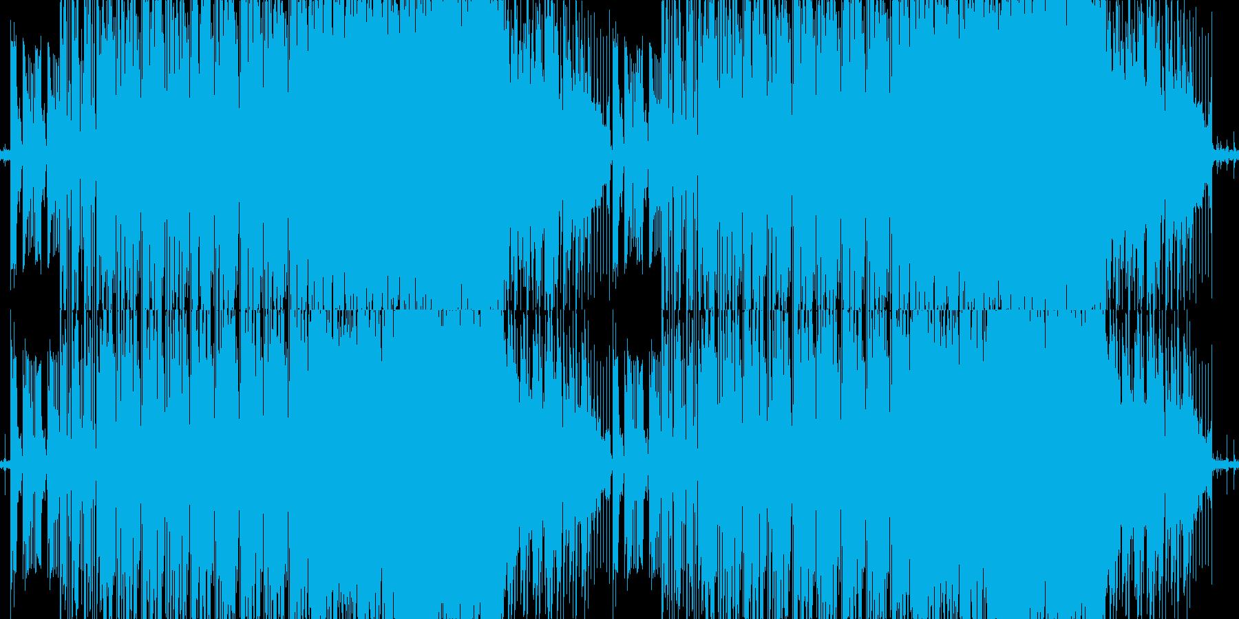 優しく切ないローファイブレイクスの再生済みの波形