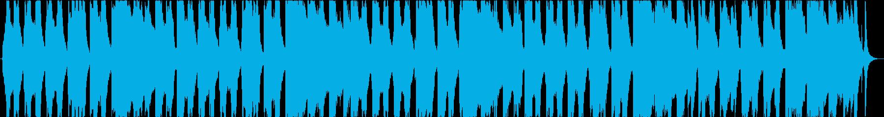 爽やかウクレレポップスの再生済みの波形