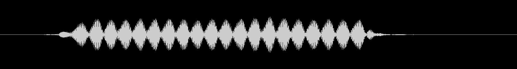 「ピィッ」サッカーPK合図の笛の未再生の波形
