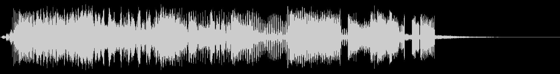 信号解釈の未再生の波形