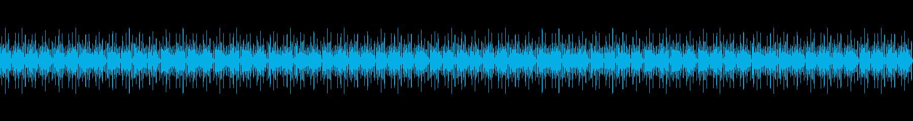 Vtuberの配信 雑談向けBGM(3)の再生済みの波形