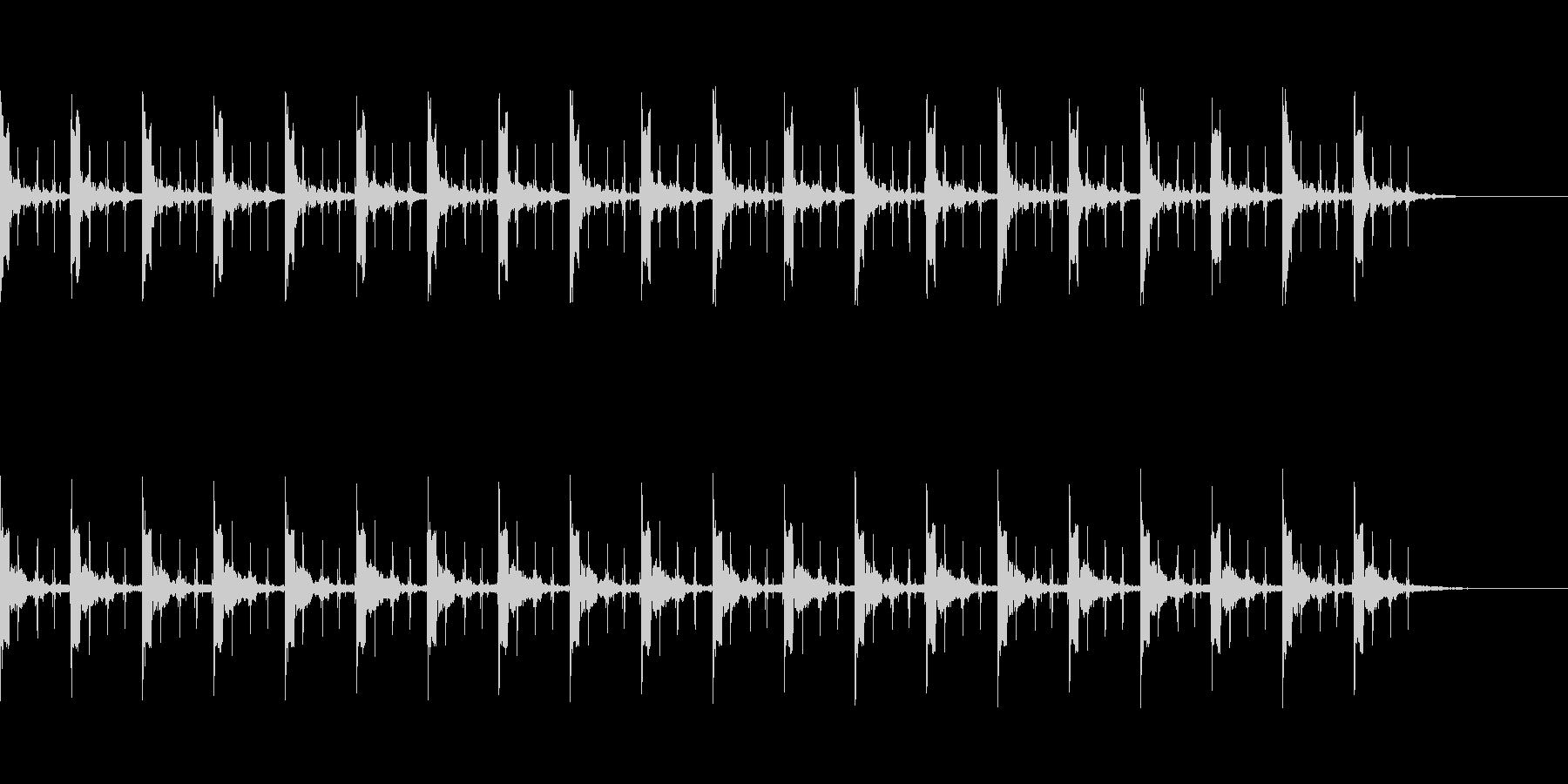ピッピ+秒針 カウント20秒 - 02の未再生の波形